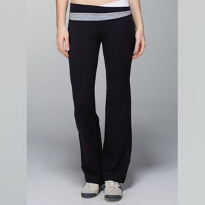 Lululemon Astro Pant Leggings Full Length 4 Black